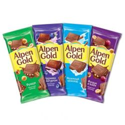 Шоколад Alpen Gold 90 г.