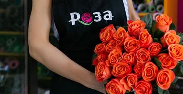 РОЗА - цветочная доставка нового поколения