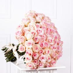 """Букет из 101 розы """"Титаник"""""""