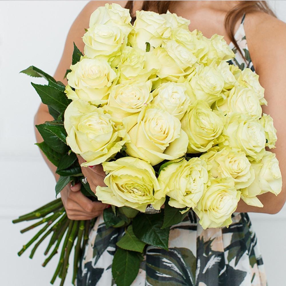 """Букет из 25 роз """"Мондиаль"""""""