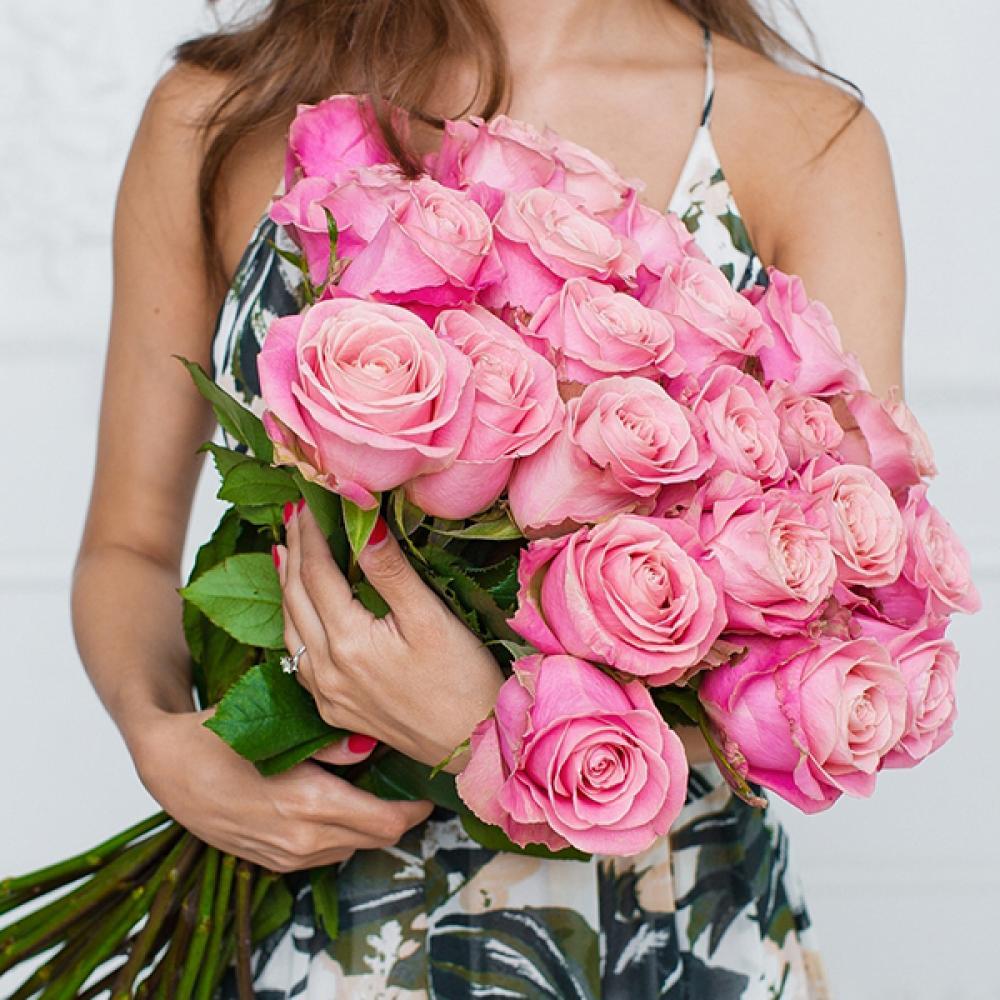"""Букет из 25 роз """"Хермоза"""""""