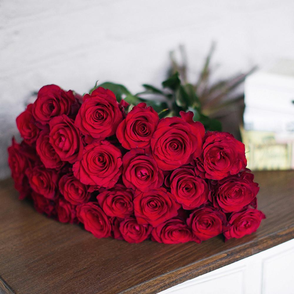 """Букет из 25 роз """"Чекмайт"""""""