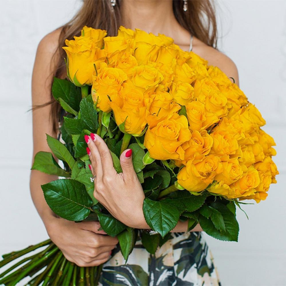 """Букет из 51 розы """"Хаммер"""""""