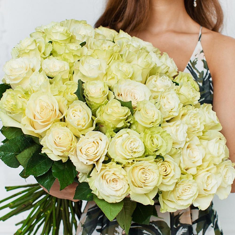 """Букет из 51 розы """"Мондиаль"""""""