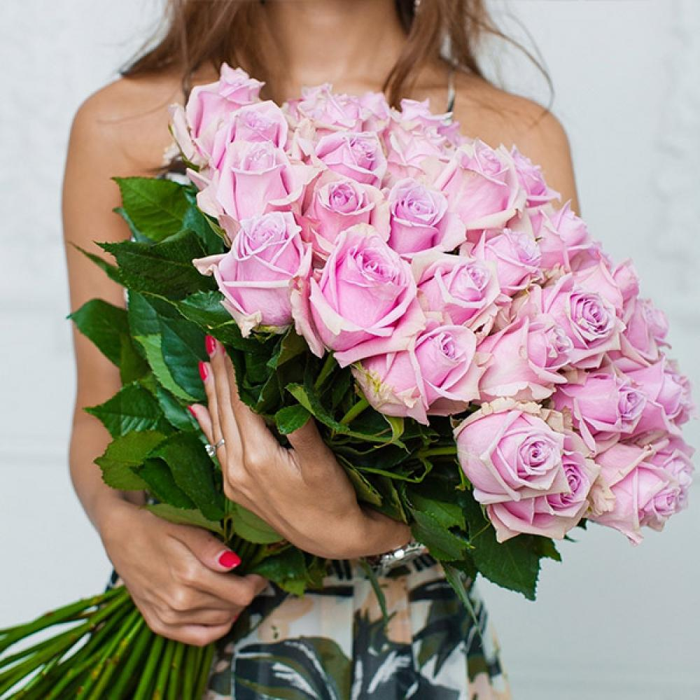 """Букет из 51 розы """"Наутика"""""""