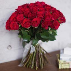 """Букет из 51 розы """"Чекмайт"""""""