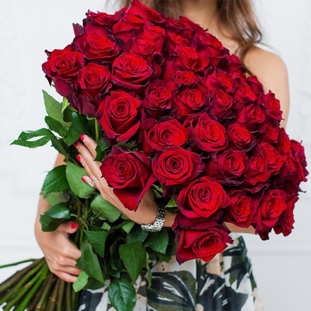 """Букет из 51 розы """"Эксплорер"""""""