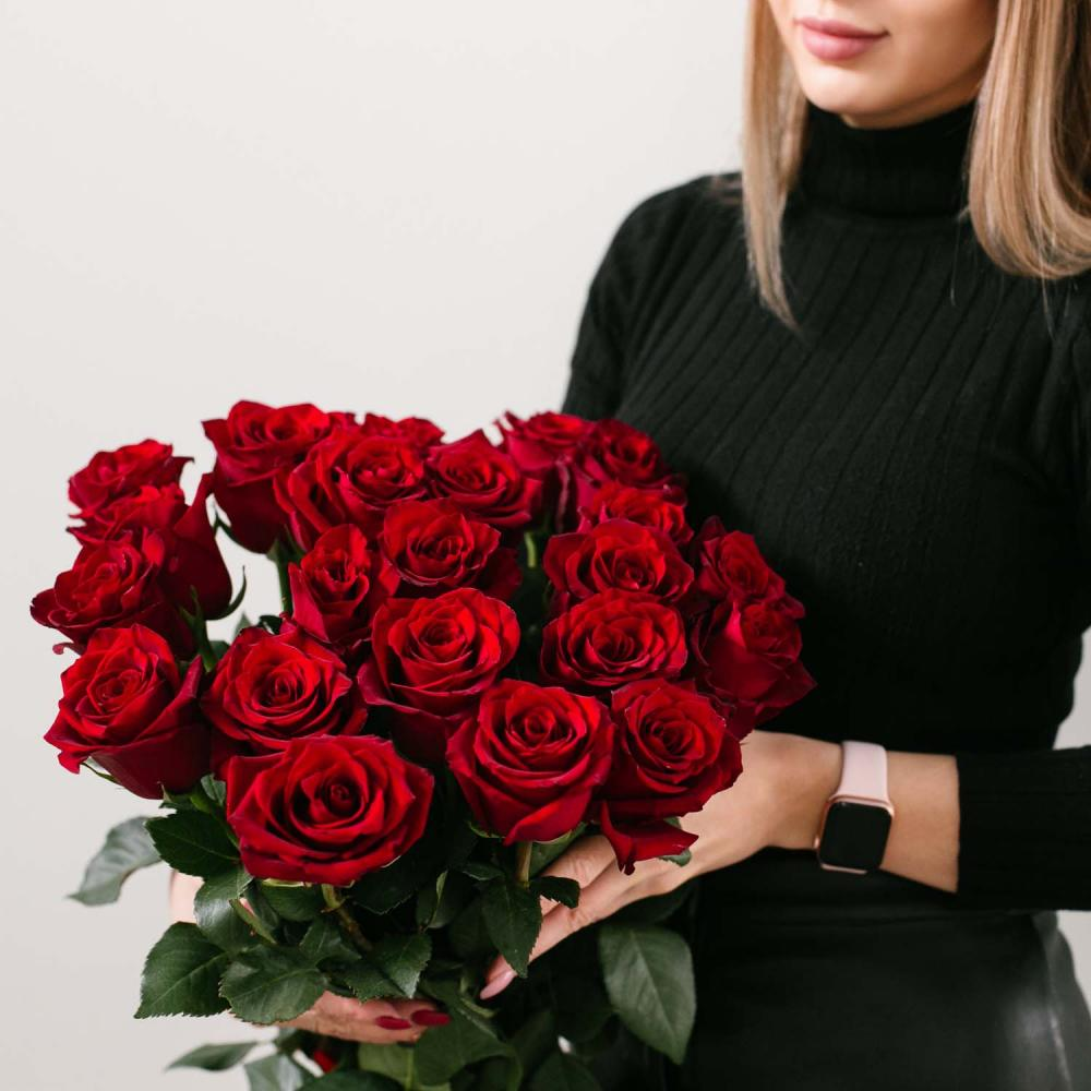"""Букет из 25 роз """"Эксплорер"""""""